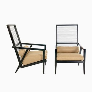 Astoria Lounge Chairs by Franco Bizzozzero for Pierantonio Bonacina, 1999, Set of 2