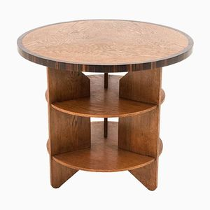 Dutch art deco amsterdam school coffee table 1920s for sale at pamono - Deco de table vintage ...