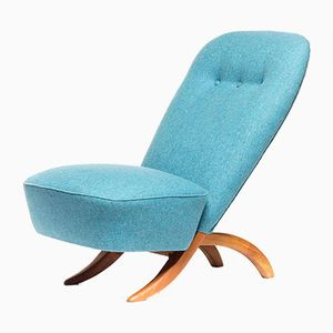 Light Blue Congo 1001 Easy Chair by Theo Ruth for Artifort