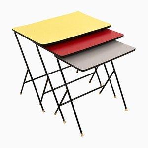 Tables Gigognes Mid-Century Modernes de Pilastro, 1960s