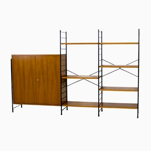 Mid-Century Teak Shelving Unit from WHB, 1960s