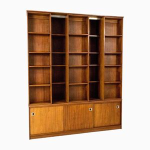 Mid-Century Modern Library Bookcase
