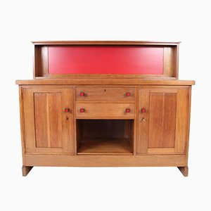 Haagse School Sideboard by H.Wouda for Pander