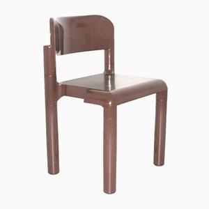 Chaise Marron en Plastique par Eerio Aarnio pour UPO Furniture, 1970s
