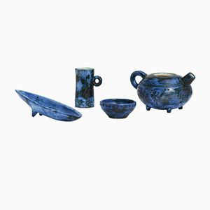 Set di ceramiche di Jacques Blin, anni '50