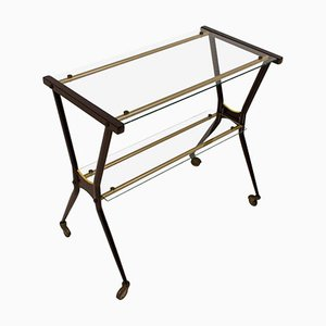 Italian Lacquered Metal Trolley, 1960s