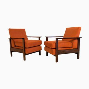 Mid-Century Modern Lounge Chairs, 1960s, Set of 2