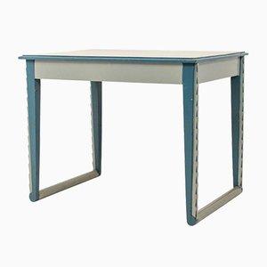 Amsterdam School Blue Console Table