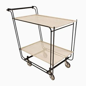 Vintage Tubular Steel Trolley, 1960s