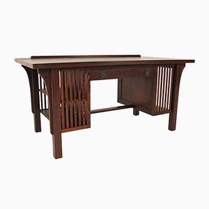 Belgischer Wengeholz Schreibtisch