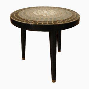 Vintage Ceramic Mosaic Side Table