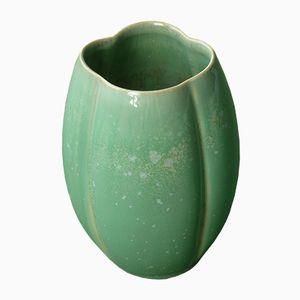 Vintage Ceramic Vase by Edouard Chapallaz, 1960s