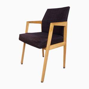 Chaise de Bureau Noire, Suède, 1970s