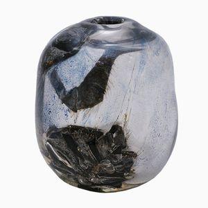 BM 79 Glass Vase by Benny Motzfeldt, 1979