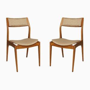 Vintage GFM-110 Stühle von Edmund Homa für Gościcińska Fabryka Mebli, 2er Set