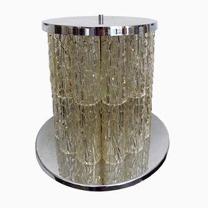 Steel & Perspex Table Lamp from J.T.Kalmar, 1960s