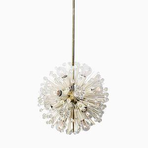 Austrian Snowball Orbit Sputnik Ceiling Light by Emil Stejnar for Rubert Nikoll, 1950s