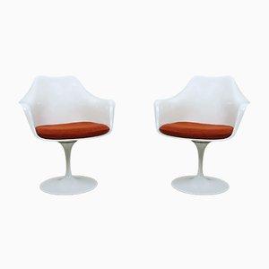 American Tulip Armchairs by Eero Saarinen for Knoll International, 1950s, Set of 2