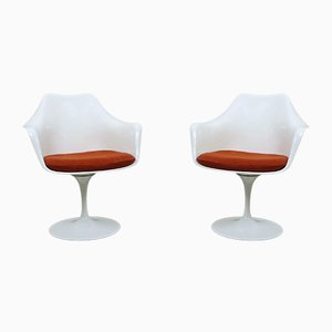 Fauteuils Tulip par Eero Saarinen pour Knoll International, Amérique, 1950s, Set de 2