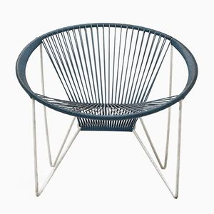 Blue Spaghetti Cocktail Chair, 1960s