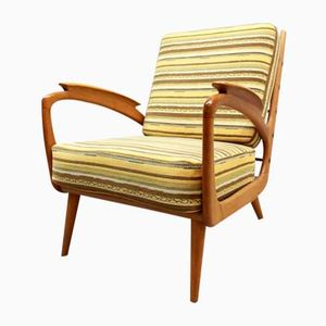 Vintage Danish Lounge Armchair, 1950s