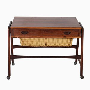 Mid-Century Danish Rosewood Sewing Table
