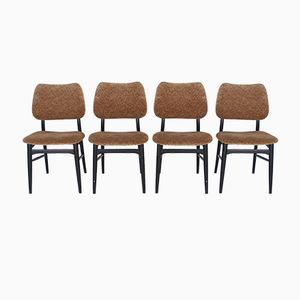 Mid-Century Swedish Dining Chairs from Svenska Möbelindustrier, Set of 4