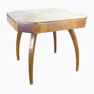 H-278 Gaming Table by Jindřich Halabala for United Applied Arts, 1950s