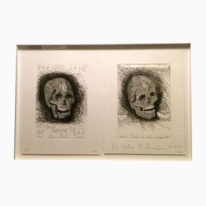 """Stampa autografata """"Beyond Belief, For The Love of God"""" di Damien Hirst, 2007"""