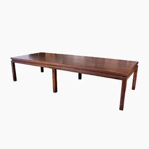 Large Mahogany Coffee Table by Harvey Probber, 1960s