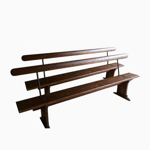 Vintage Industrial Railway Benches, Set of 2