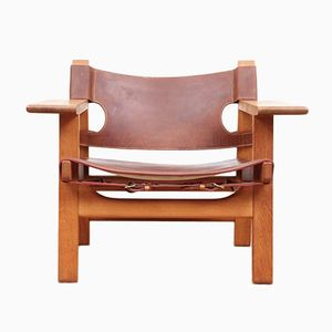 226 Spanish Chair by Borge Mogensen for Fredericia, 1970s