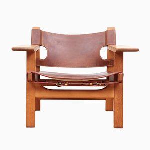 226 Spanish Chair von Borge Mogensen für Fredericia, 1970er