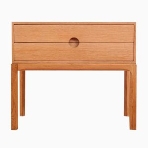 Commode à Tiroirs Model 384 en Chêne par Kai Kristiansen pour Odder Furniture, 1960s