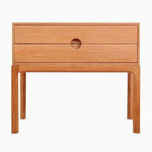 Modell 384 Eiche Kommode von Kai Kristiansen für Odder Furniture, 1960er