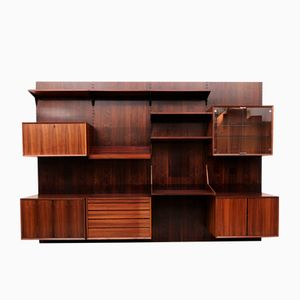 Mid-Century Rio Palisander Royal System Wall Unit by Poul Cadovius for Cado