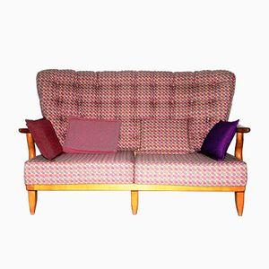Canapé Repos en Chêne par Guillerme et Chambron pour Votre Maison
