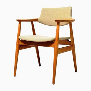 Mid-Century Oak Desk Chair by Erik Kirkegaard