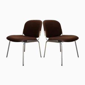 Vintage Wartezimmer Stühle, 1980er, 2er Set