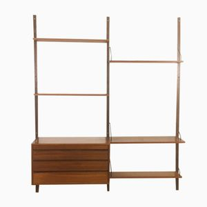 Teak Royal System Wall Unit by Poul Cadovius for Cado, 1960s