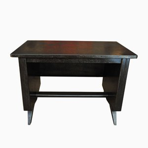 Small Industrial Metal Desk, 1950s