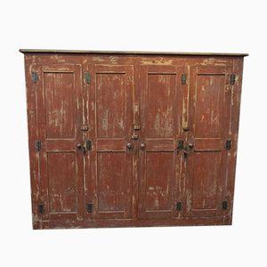 Vintage Schrank mit Vier Türen, 1950er