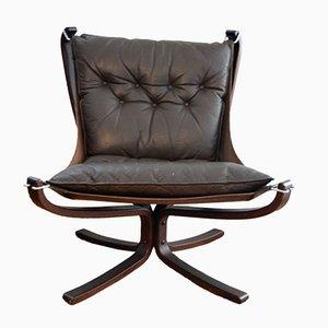 Vintage Falcon Chair von Siggurd Ressell für Vatne Møbler, 1979