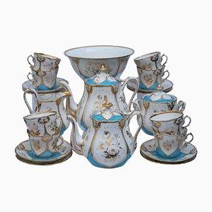 Antikes Pariser Porzellan Teeservice, 1850