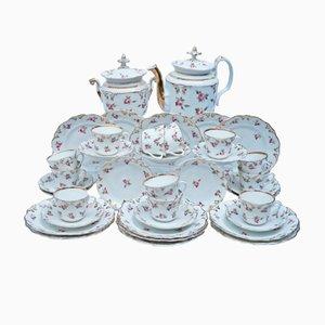 Komplettes Antikes Französisches Vieux Paris Tee Service