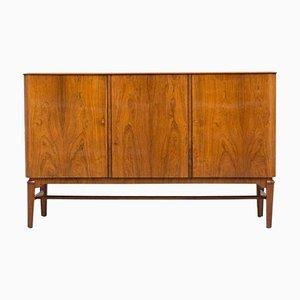 Skandinavisches Modernes Vintage Sideboard mit Metallintarsie von John Jonson