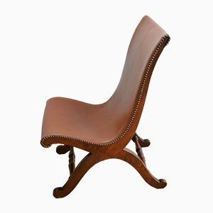 Vintage Slipper Stuhl von Pierre Lottier für Valenti