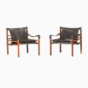 Sirocco Lounge Chairs from Arne Norell, 1960s, Set of 2