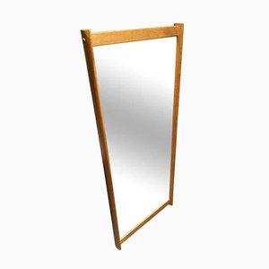 Wall Mirror with Oak Frame by Aksel Kjersgaard for Odder Møbler