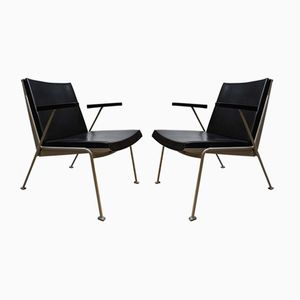 Vintage Oasis Armlehnstuhl von Wim Rietveld für Ahrend De Cirkel
